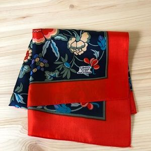 Accessories - Liberty London Silk Scarf Made in England